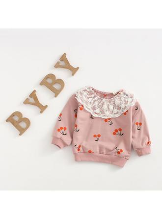Bébé & Bambin Fille Cerise Coton Sweat-Shirt