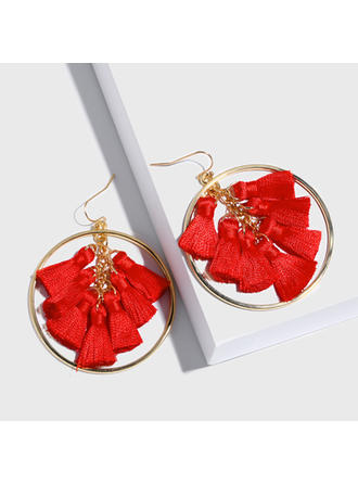 Exotic Chic Alloy With Tassels Earrings