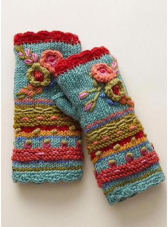 Bloemen mode/eenvoudig/Koud weer handschoenen