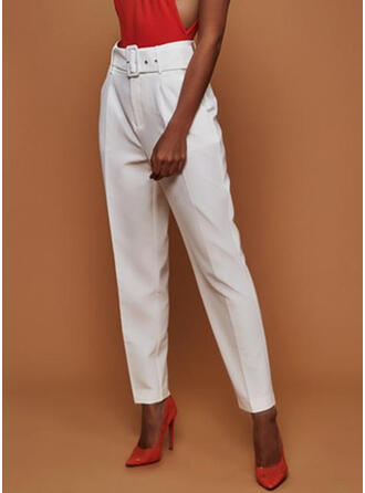Solid Long Elegant Long Solid Pants