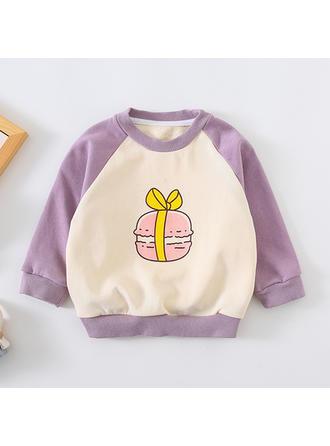Bébé & Bambin Fille Imprimé Bande Dessinée Coton Sommet