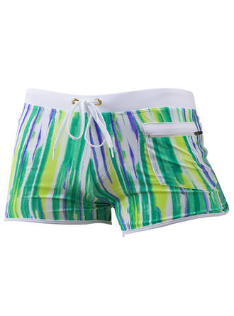 Men's Stripe Briefs Swimsuit
