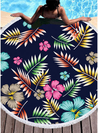 Floral attractive/fresh Beach Towel