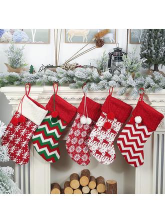 boldog Karácsonyt Függő Ajándéktáska Örgü Apple táskák Karácsonyi harisnya