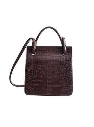 Elegant/Klassische/Krokodilmuster/Vintage Handtaschen/Schultertaschen