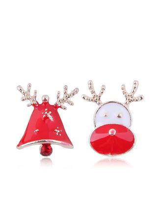Stylish Alloy Earrings Christmas Jewelry