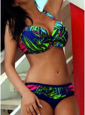 Floreale Stampa Cinghia Sexy Bikinis Costumi Da Bagno