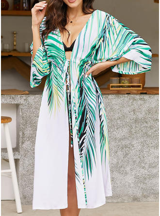 Stripe Strapless Fashionable Beautiful Fresh Attractive Cover-ups Swimsuits
