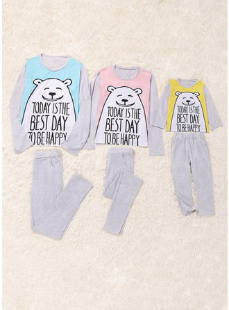 Bear Print Family Matching Pajamas
