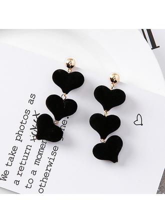 Nice Alloy Cloth Women's Fashion Earrings (Set of 2)