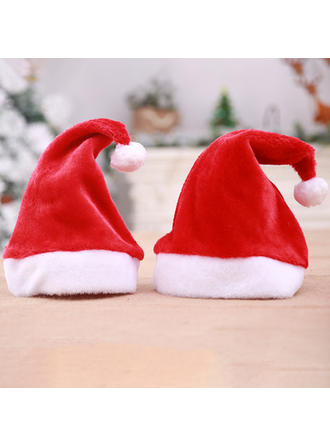 Feliz Navidad Papa Noel Tela no tejida Sombreros de navidad