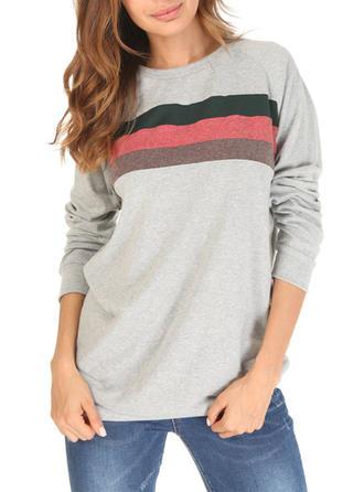 Baumwolle Drucken Pullover