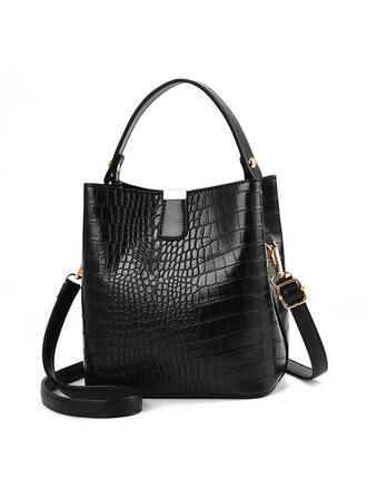 Elegant/Charming/Classical/Alligator Pattern Crossbody Bags/Shoulder Bags/Bucket Bags