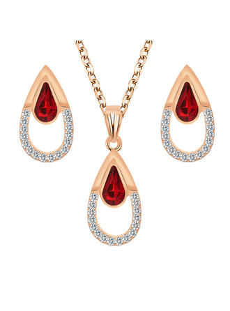 Gorgeous Sexy Alloy With Rhinestone Imitation Stones Jewelry Sets