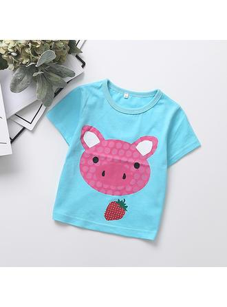 Bébé & Bambins Imprimé Bande Dessinée Coton T-shirt