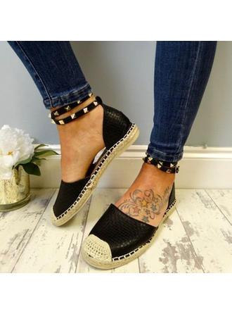 Women's Suede Low Heel Sandals With Rivet shoes