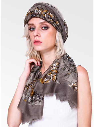 Floral Light Weight Scarf