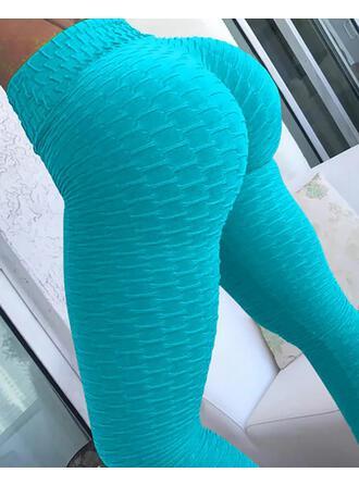 Einfarbig Lange Lässige Kleidung Sexy Lange Sportlich Gamaschen