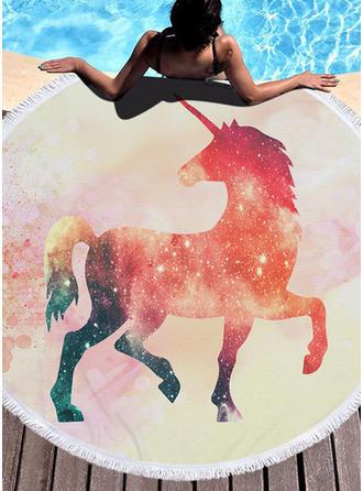 Animal Oversized/rundă prosop de plajă