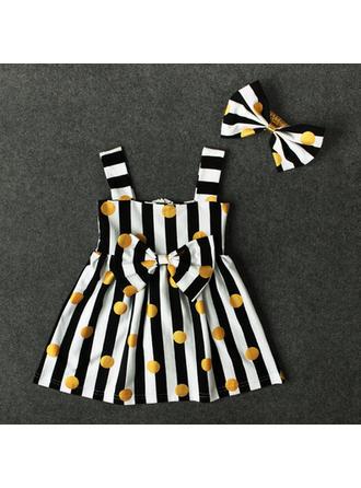 Bébé & Bambin Fille Striped Robe Sans Manche,Bandeau Définir La Taille