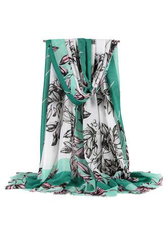 Bloemen aantrekkelijk/mode Sjaal