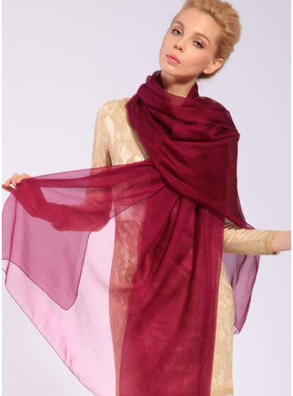 Solid Color Light Weight/Oversized Mulberry silk Silk Scarf
