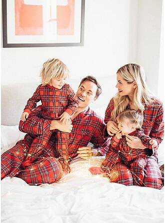 Tela escocesa Familia a juego Pijama