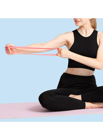 Yoga Stretchable Emulsion Resistance Band (Set of 5)