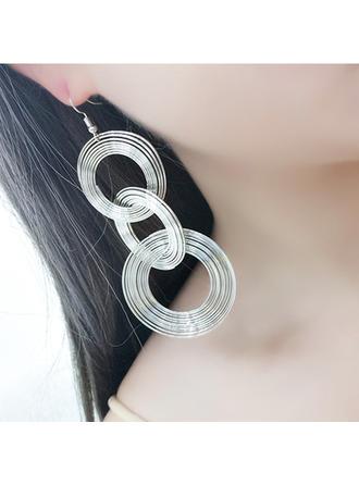 Fashional Alloy Women's Fashion Earrings (Set of 2)
