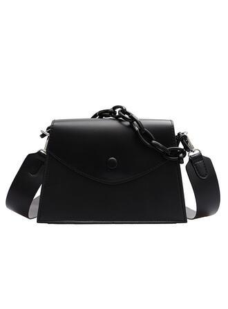 Elegant/Klassische/Vintage/Einfarbig/Einfache Schultertaschen