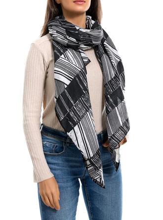 Gestreift Kaltes Wetter Schal