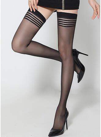 Colore solido traspirante/Da donna/calze autoreggenti Calzini/calze autoreggenti
