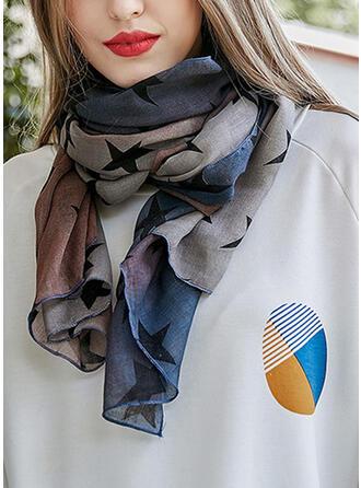 Geometrische Print mode Sjaal