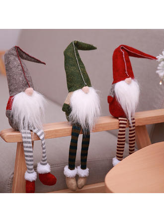Mesa Feliz Navidad Pierna larga Tela no tejida Muñeca