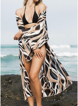 Leopard Sexy Cover-ups Swimsuits