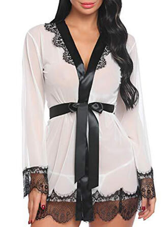 Spandex Lace Robe