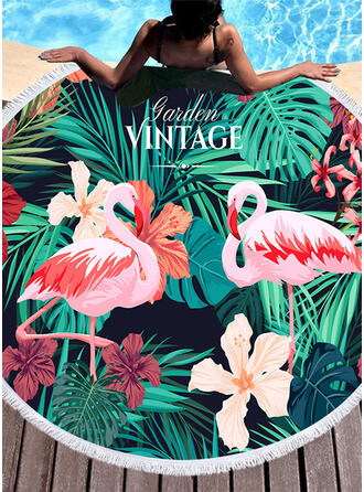 Floral/Animal fashion/fresh Beach Towel