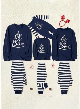 Carta Raya Impresión Familia a juego Pijamas De Navidad