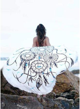 Dromenvanger Oversized/okrągły/atrakcyjny ręcznik plażowy