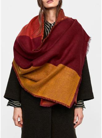 Geometrisk Print attraktiv/Koldt vejr Halstørklæde