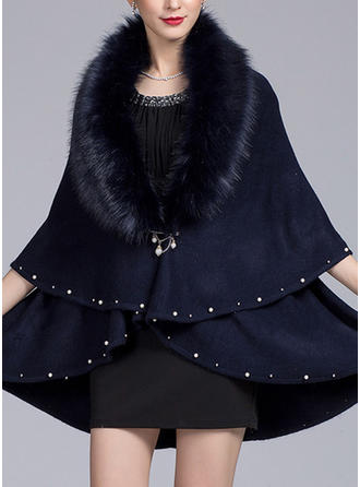 Solid färg attraktiv/mode/Kallt väder wraps