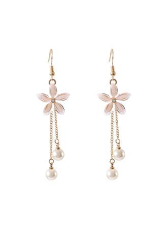 Chic Alloy Imitation Pearls Women's Earrings