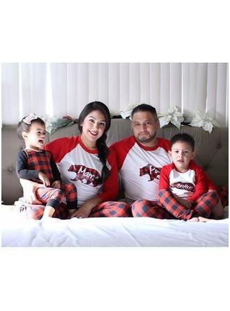 Ours Tenue Familiale Assortie Pyjama De Noël