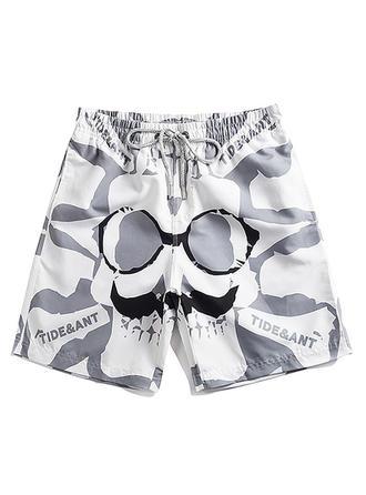 Pour des hommes Cordon de serrage Shorts de bain
