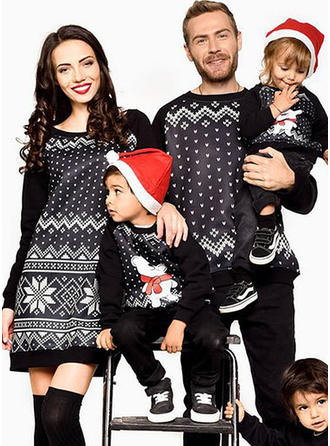 Cartoon Family Matching Sweatshirts
