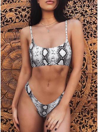 Leopard Strop Sexet Bikinier Badedragter
