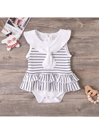 Bébé & Bambin Fille Striped Coton Body