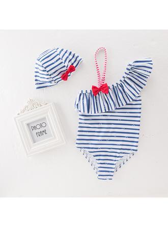 Bébé & Bambin Fille Striped Body,Chapeau Définir La Taille