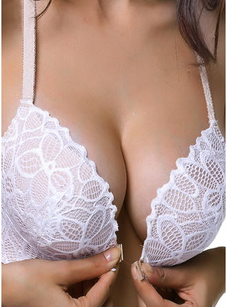 Lace Wireless Push Up Bra