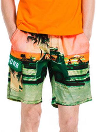 Mænd Print Board shorts badedragt